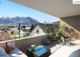 Terrassen-Ansicht TOP 7