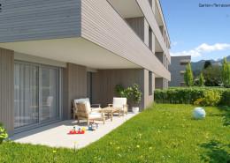 Garten- und Terrassen-Ansicht TOP 3