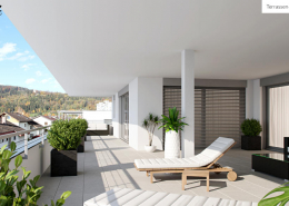 Terrassen-Ansicht TOP 11